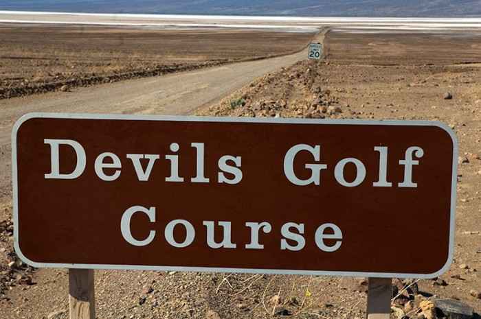 Devils golf course, Death Valley. Food Golf and Travel Photographer Paul Marshall