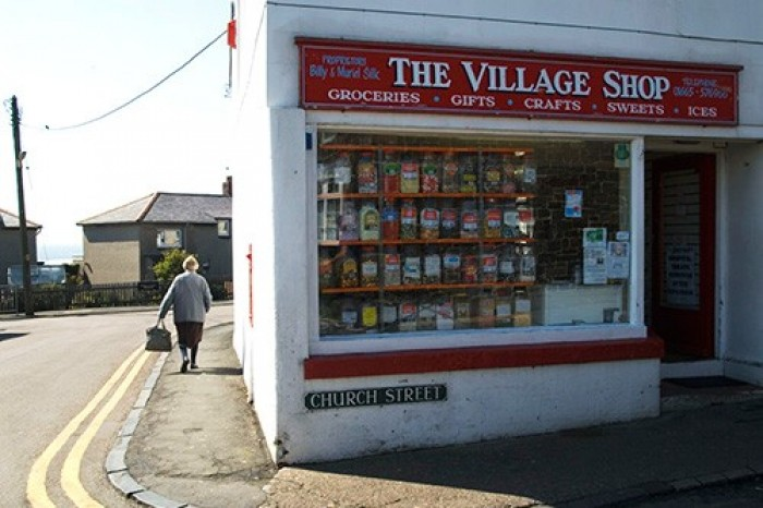 The village shop, UK